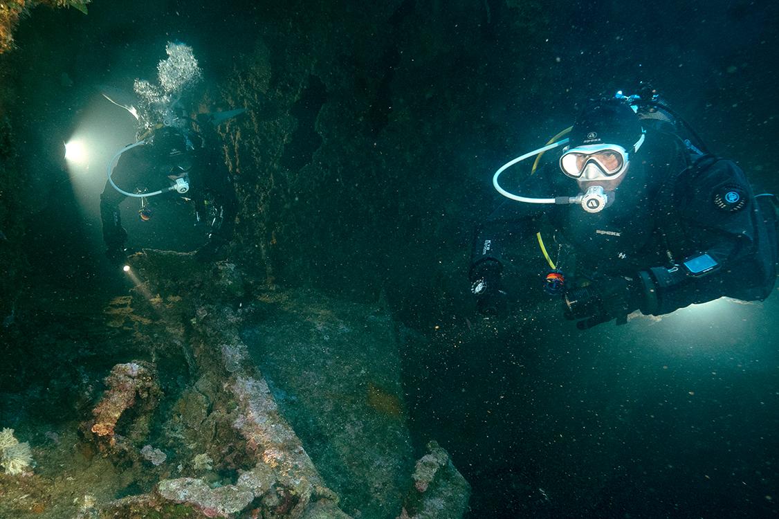 RAID Advanced Wreck Diving